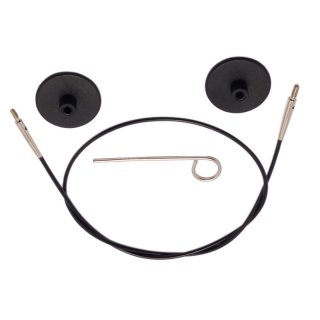 KnitPro Seil schwarz