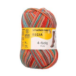 Regia 4-fädig color 50g