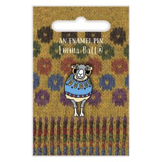"Pin ""Wooly Sheep in Blue Sweater"""