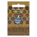 Wooly Sheep in Blue Sweater - Emaille-Pin