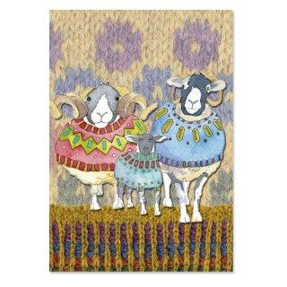 "Projektheft ""Sheep in Sweaters"""