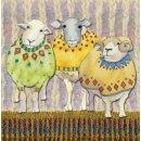 """Karten Mini """"Sheep in sweaters"""""""
