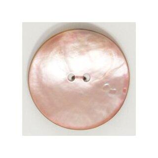 """Knopf """"Perlmutt rosa"""" 15mm"""