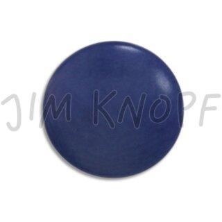 "Knopf ""Steinnuss"" 11mm blau"